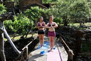 Karma yoga volunteer at Vale de Moses